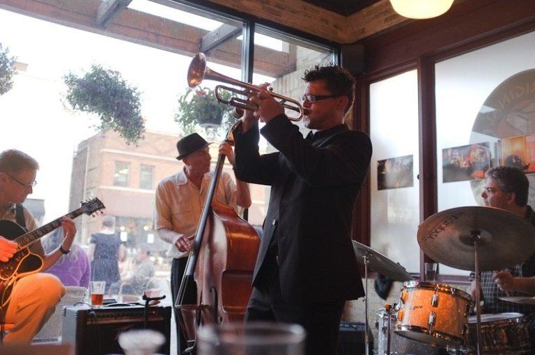 Image: Garbiel's Horns Live String Music for Weddings