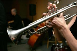 Image: Garbiel's Horns Brass Wedding Band