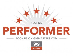 5-Star Performer on GigMasters.com
